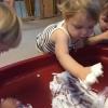 experimenteren-met-scheerschuim-en-suiker